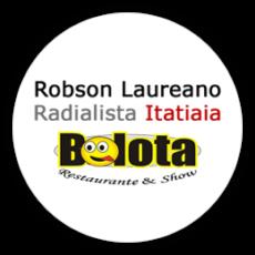 logo bolota show - robson laureano