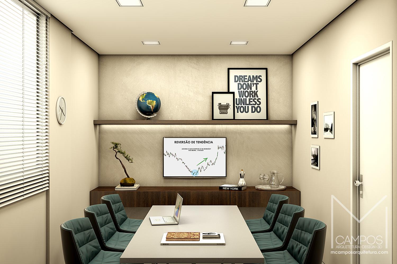 Mcampos arquitetura design maquete eletr nica 3d for 3d office design software